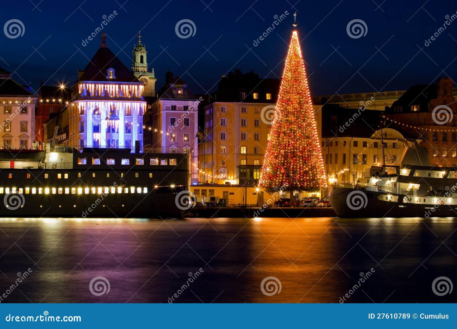 christmas in stockholm royalty free stock images image. Black Bedroom Furniture Sets. Home Design Ideas