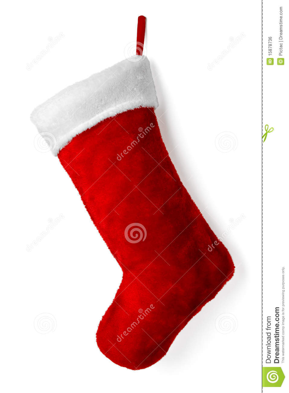 Christmas Stocking Royalty Free Stock Image Image 15878736