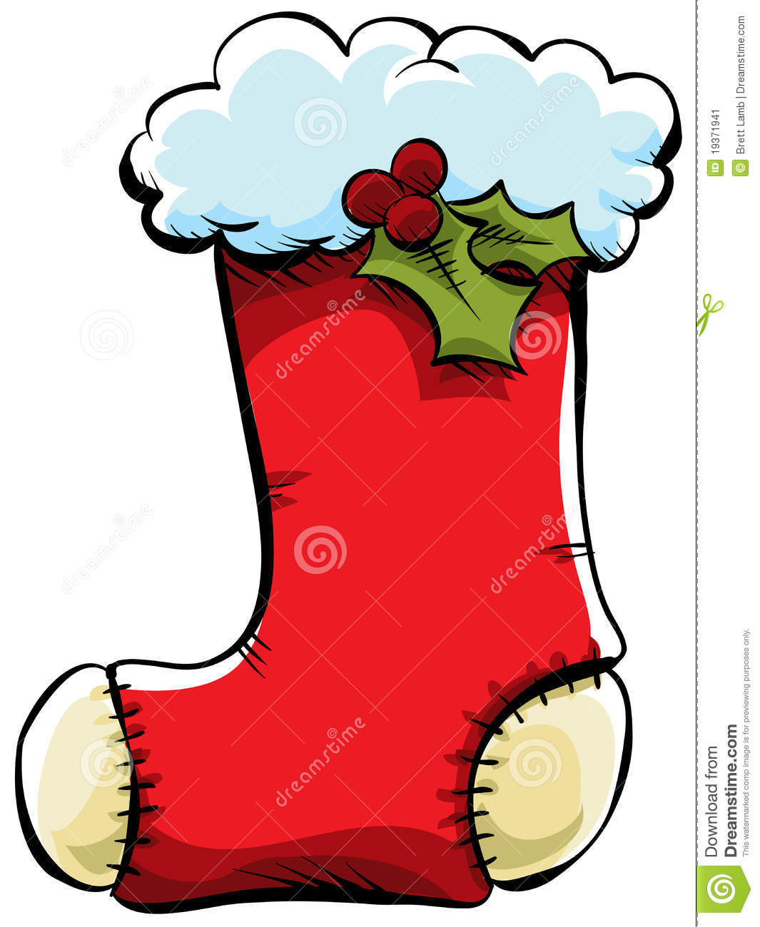 Displaying (19) Gallery Images For Christmas Stocking Cartoon...