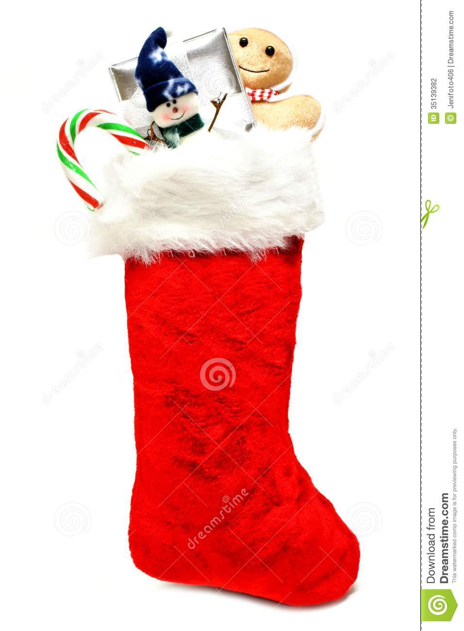 Candy Filled Christmas Stockings