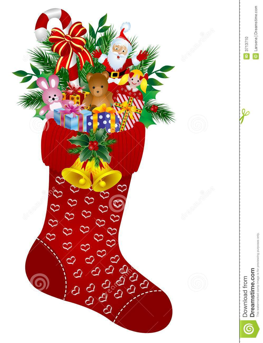 Christmas Stockings Stock Photo - Image: 3713710