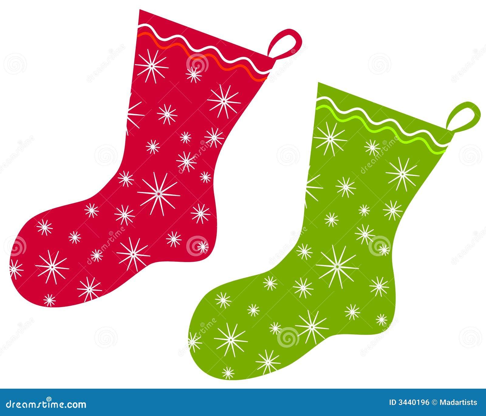 Hanging Christmas Stockings Clipart christmas stockings clip art 2 ...