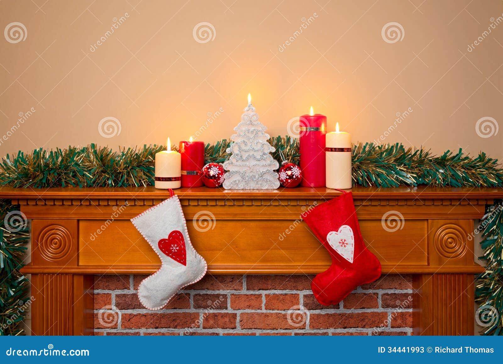 Empty Christmas Stockings