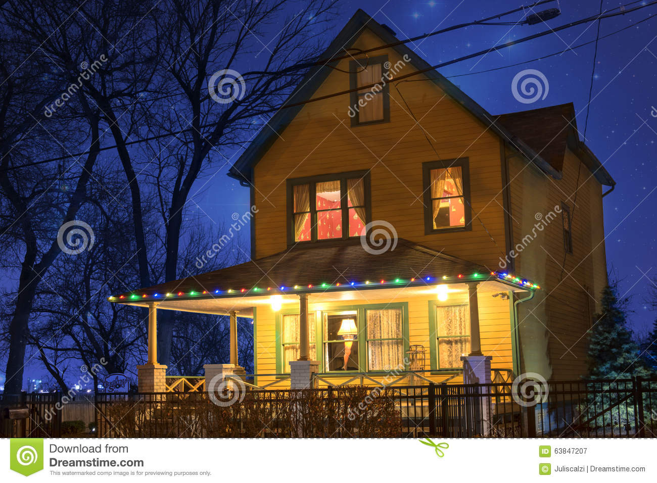 download christmas story house editorial photography image of midwest 63847207 - Christmas Story House Cleveland