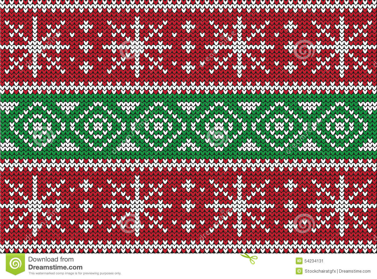 Christmas Sweater Design. Seamless Pattern Stock Vector ...