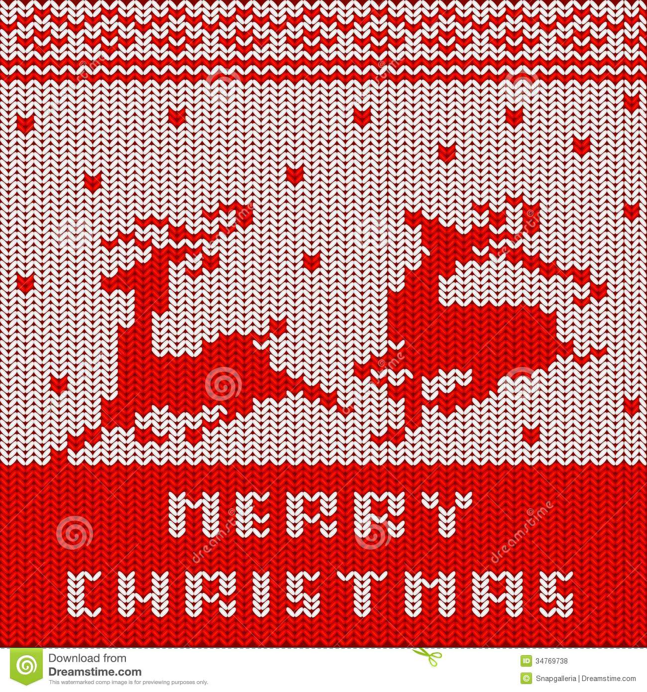 Ugly Christmas Jumper Knitting Pattern : Christmas Sweater Pattern Royalty Free Stock Photos - Image: 34769738