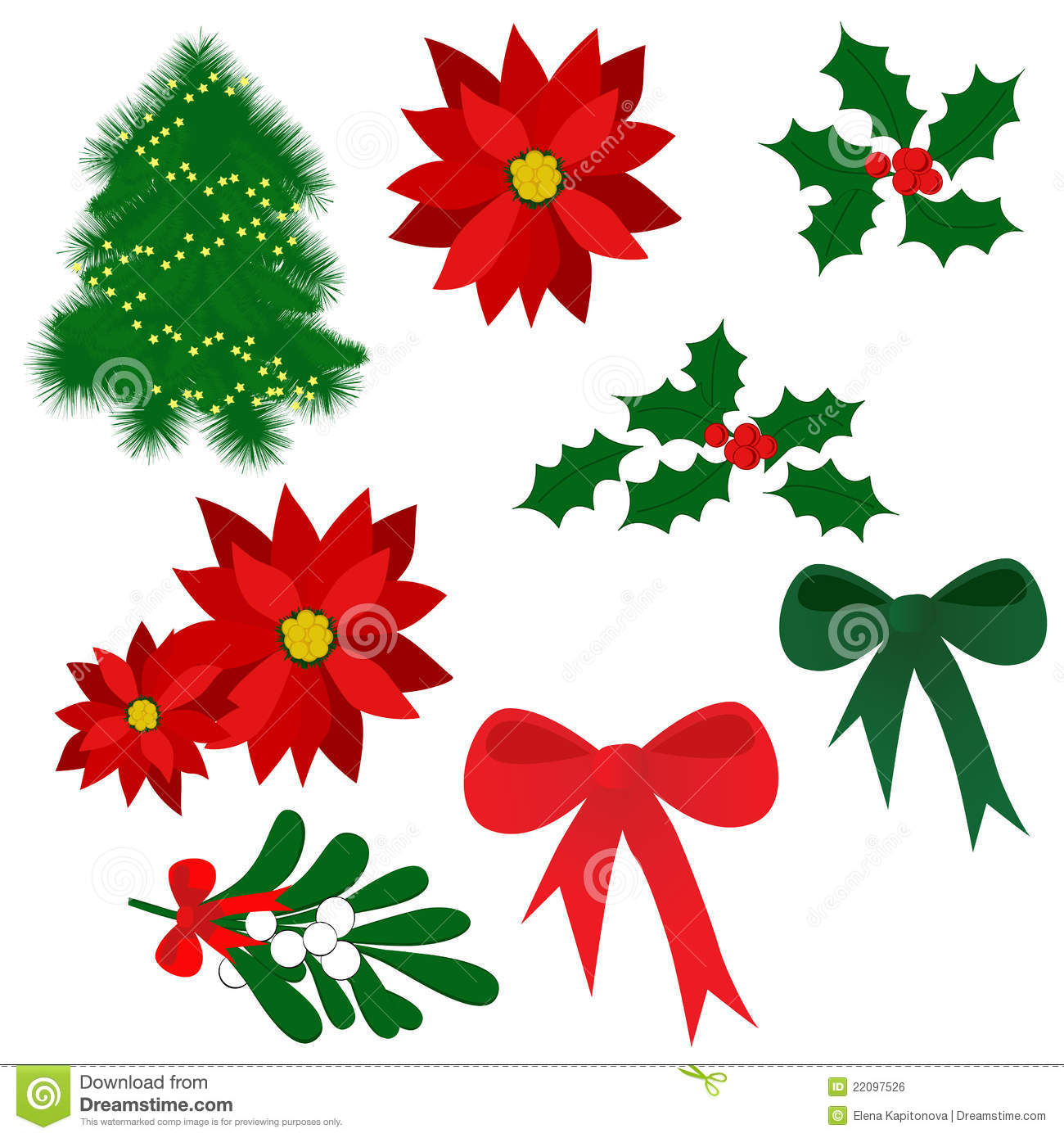 Is A Christmas Tree A Religious Symbol: Christmas Symbols Royalty Free Stock Image