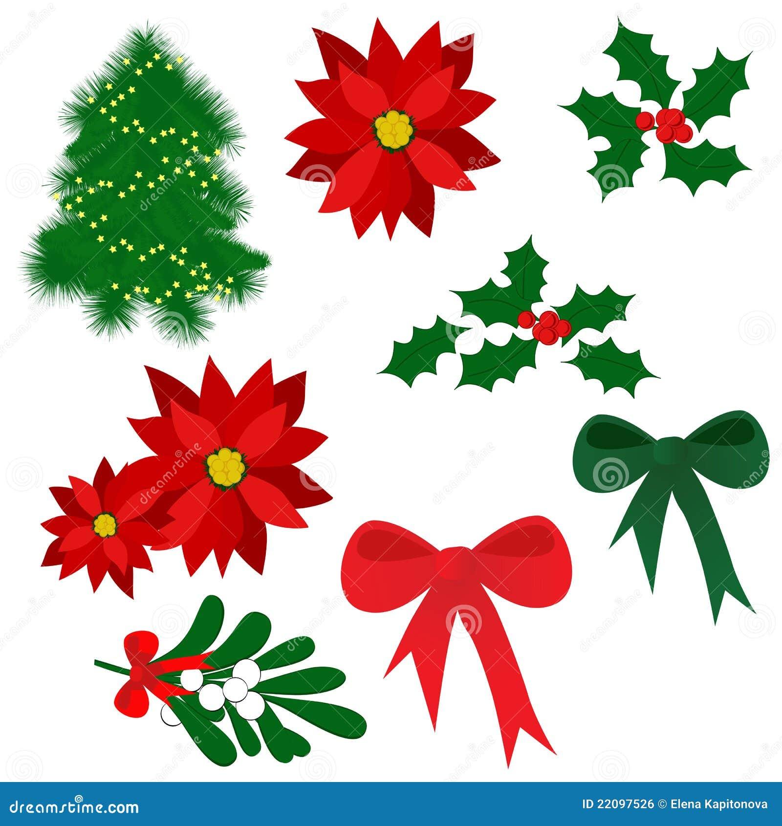 Meaning Of Christmas Tree Symbol: Christmas Symbols Royalty Free Stock Image