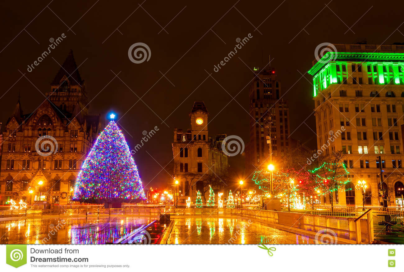 Christmas In Syracuse Stock Photo Image 78958421