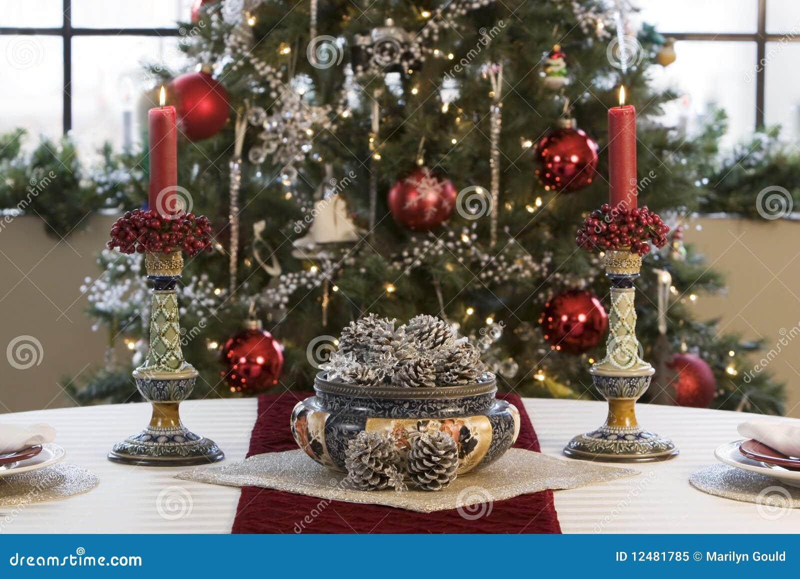 Christmas table royalty free stock photo image 12481785 - Monoprix art de la table ...