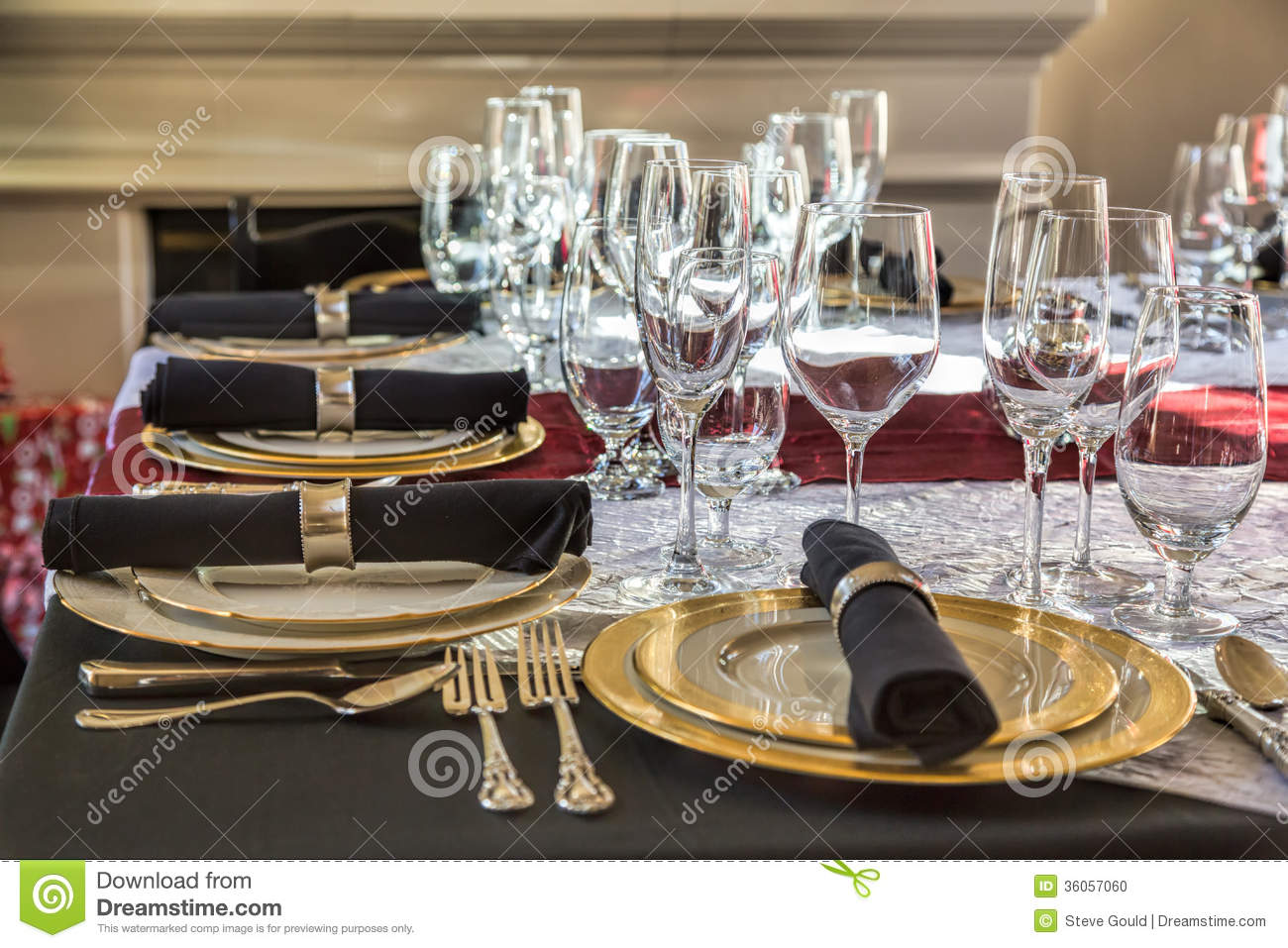 Christmas table setting : proper table setting for silverware - pezcame.com