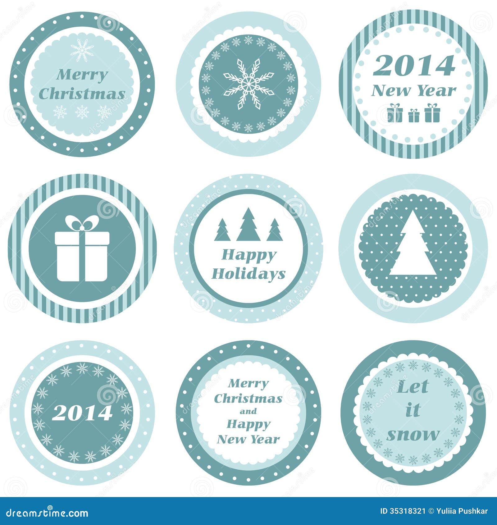 Christmas Tags Stock Image Image 35318321