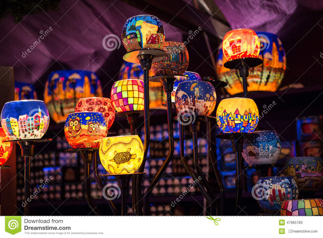 download christmas tea lights stock image image of bright decorations 47965783