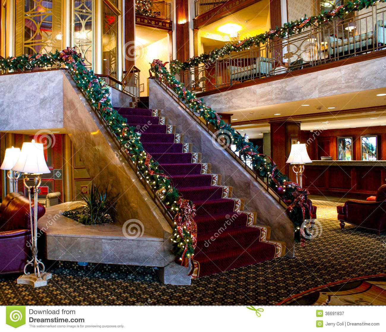 Christmas Time At The Biltmore Hotel, Providence, RI