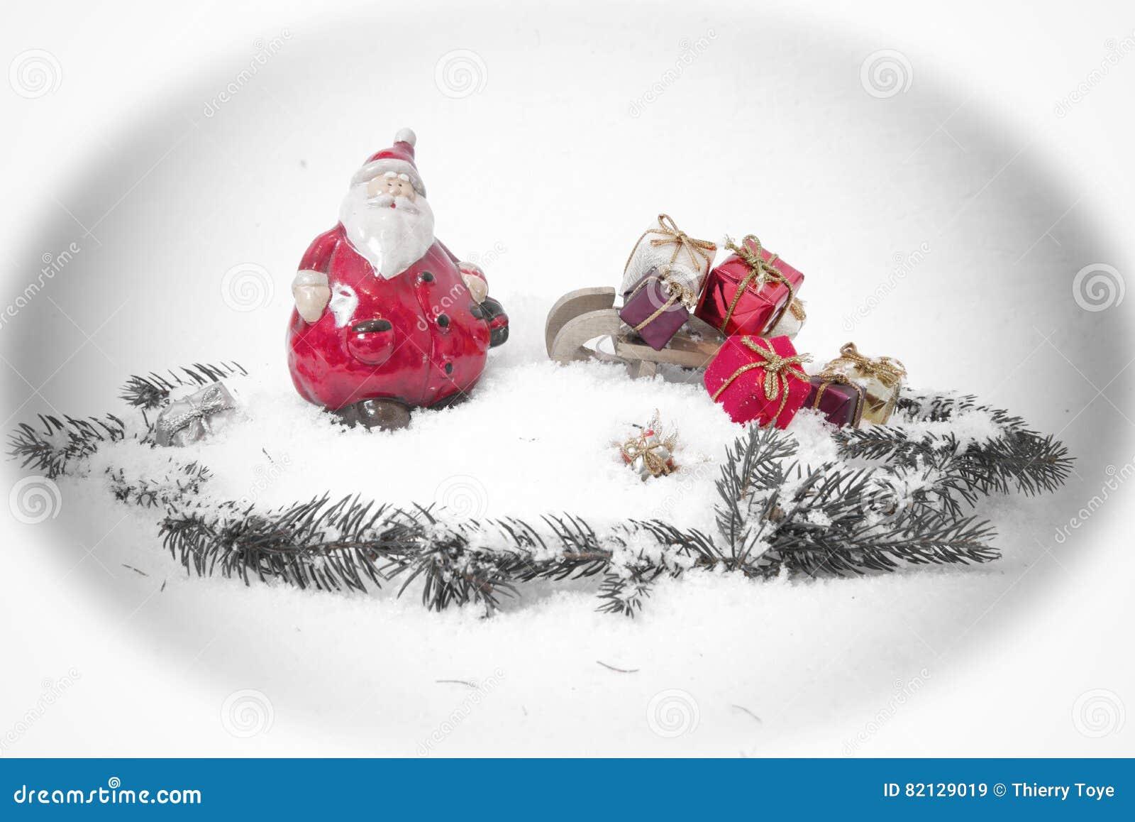 Christmas Time And Gifts Christmas Card Stock Image Image Of Here