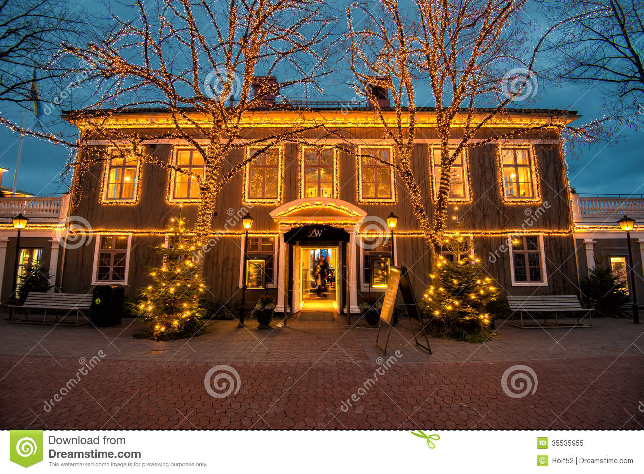 Christmas Time In Sweden Editorial Image
