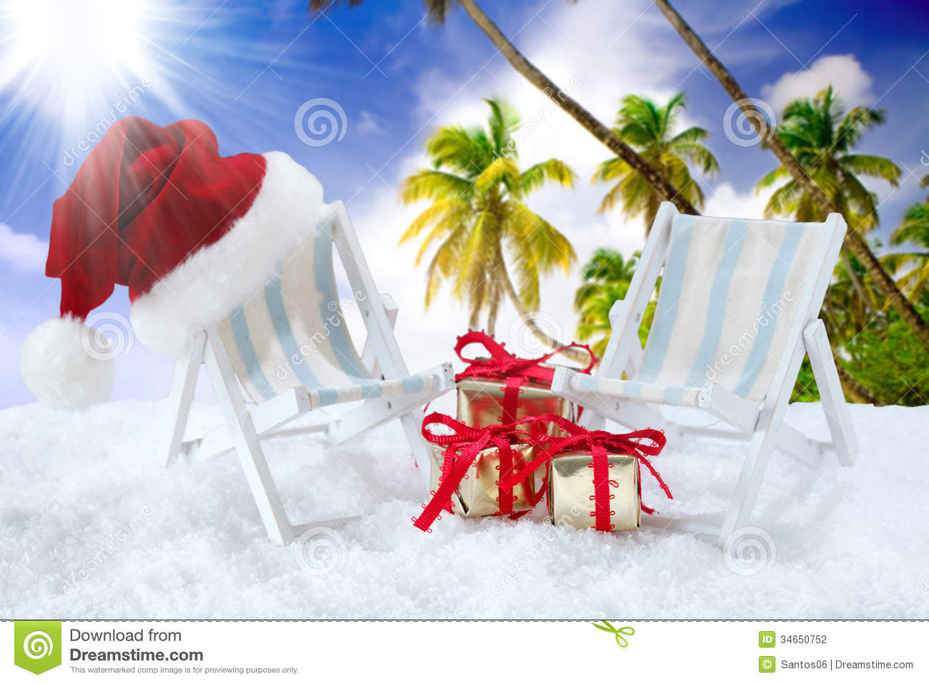 Christmas Time Stock Photo Image Of Space Chaise Claus
