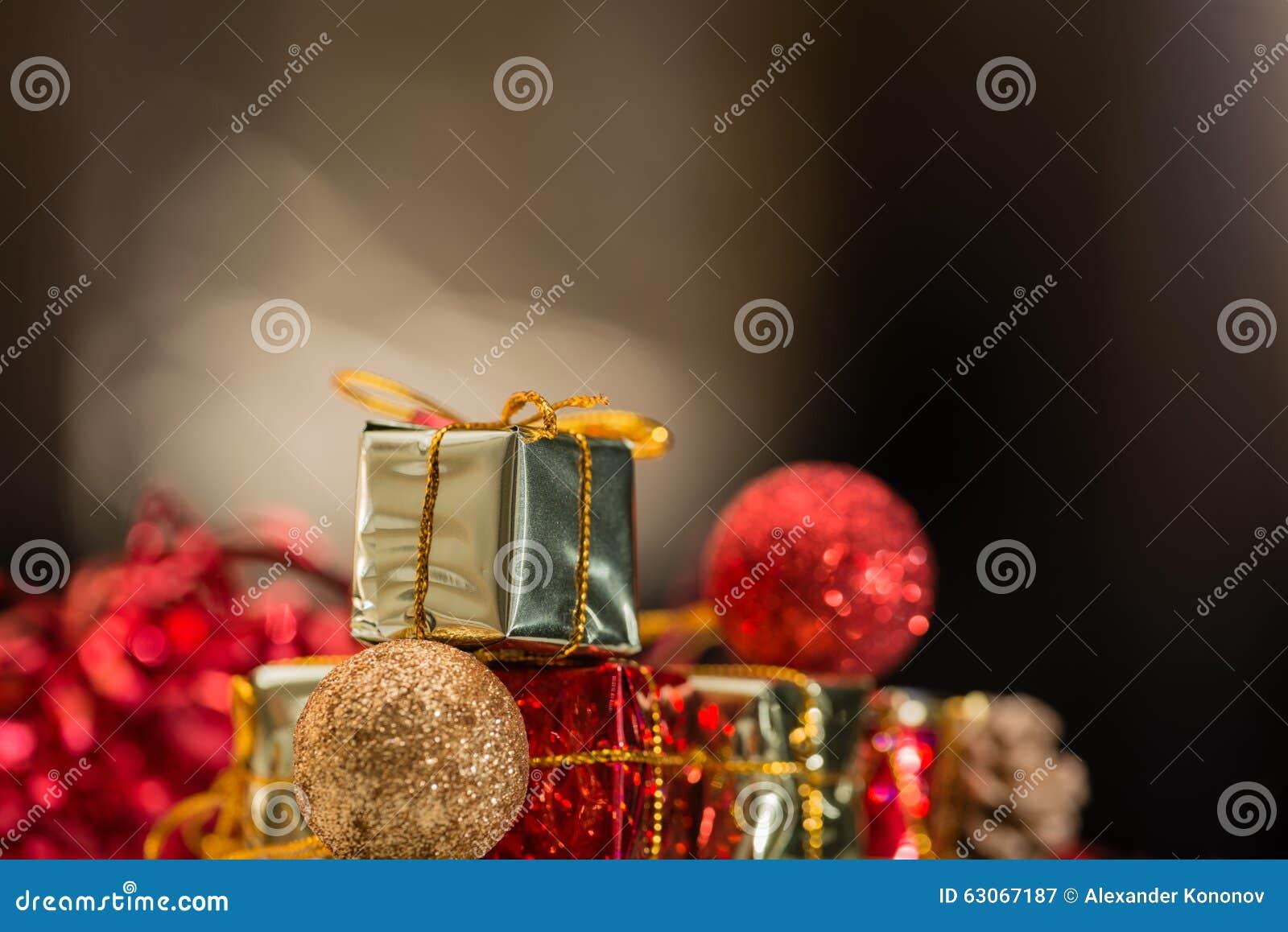Christmas tiny toys stock image. Image of gift, bokeh - 63067187