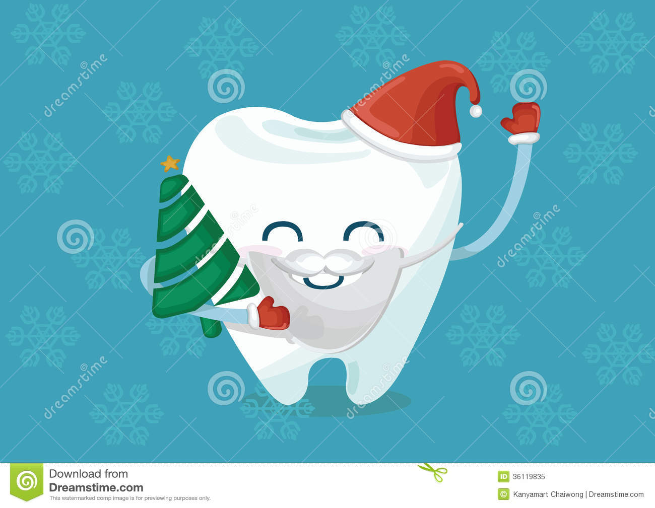Tooth Clipart Vector