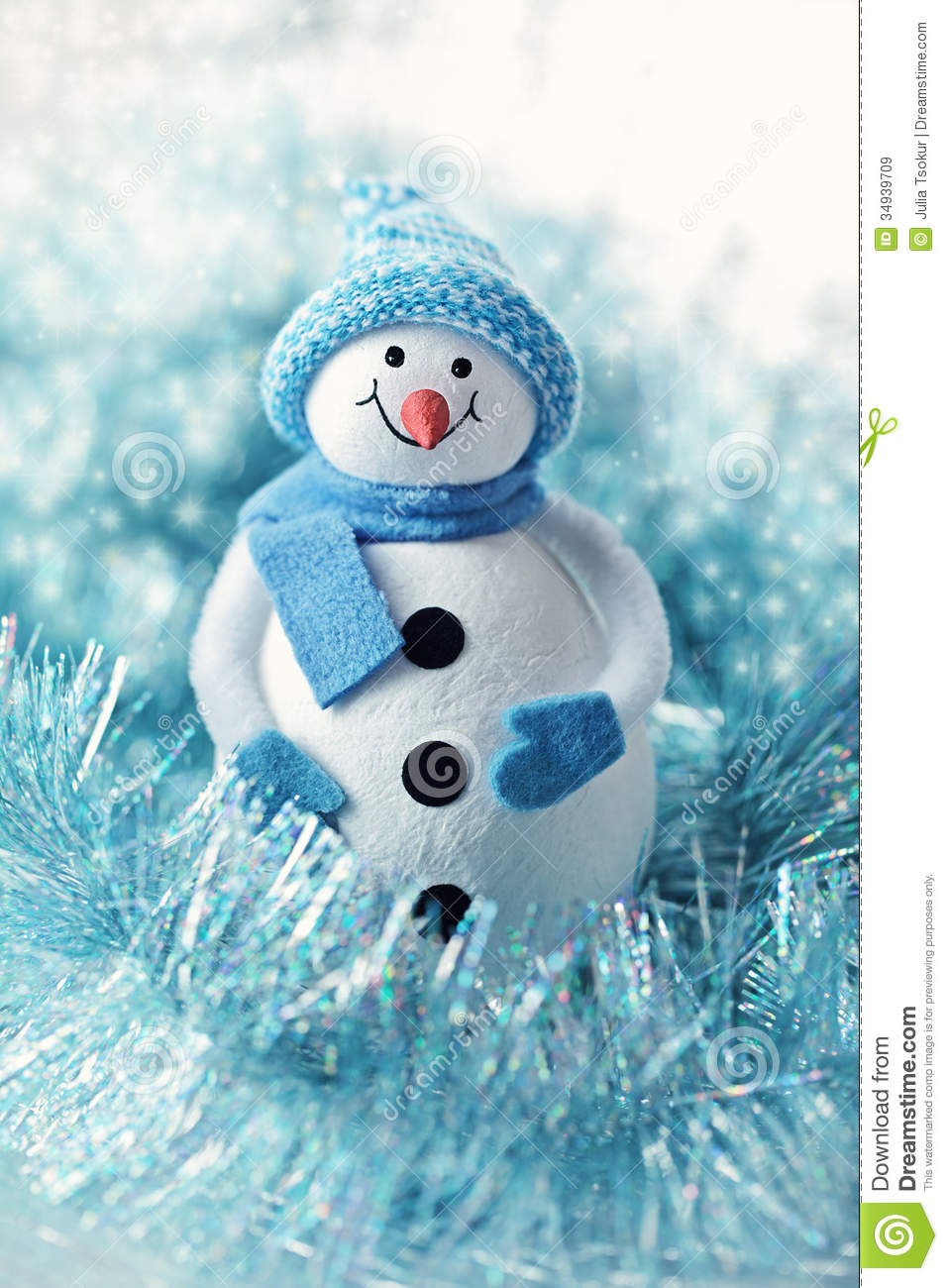 Christmas toy stock image of figure decoration