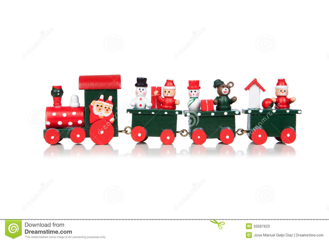Christmas Toys Clip Art : Christmas toy train stock image of leisure bright