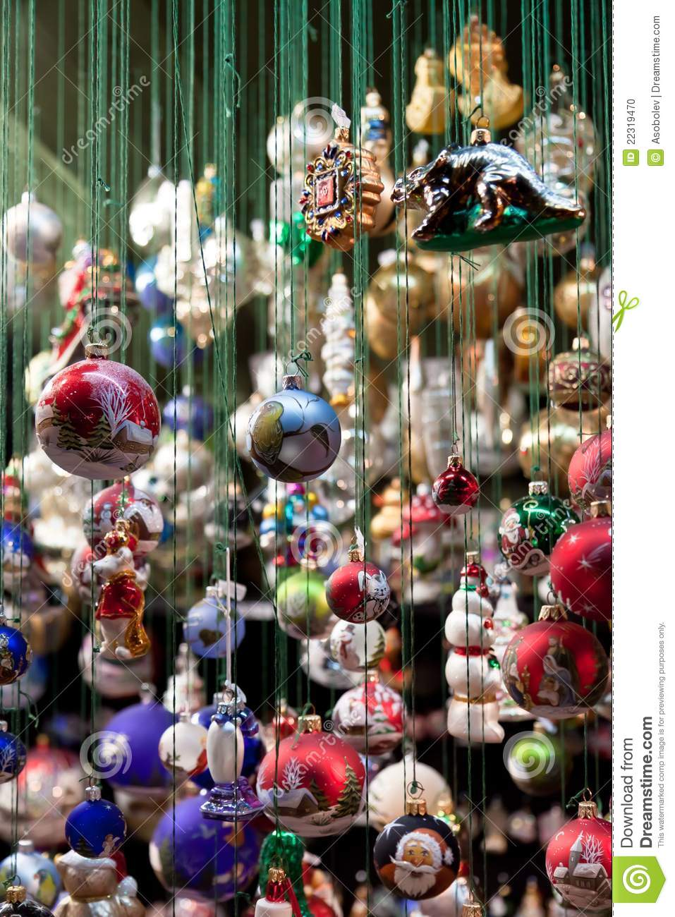 Toys At Christmas : Christmas toys on sale at fair stock photo