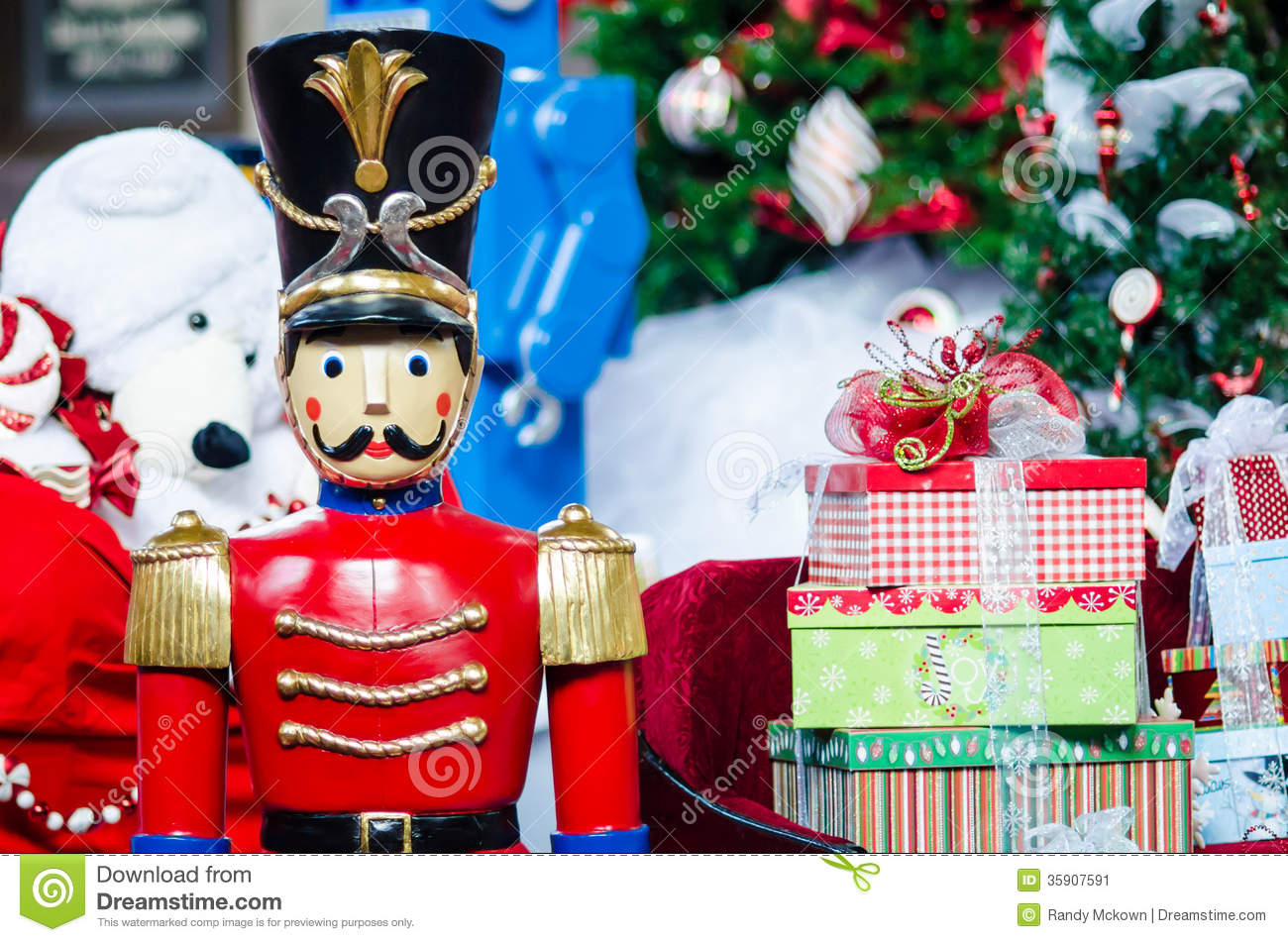 Toys At Christmas : Christmas toys stock image