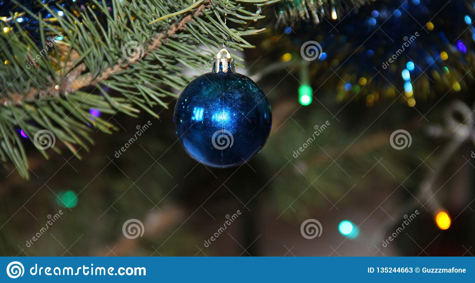 Where Did Christmas Trees Originate.Christmas Toys On The Tree Stock Image Image Of Decorated