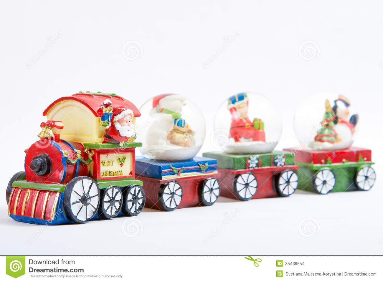 Christmas Toy Trains