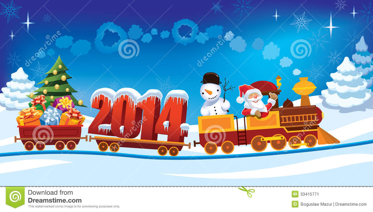 Animated Clipart Happy New Year 2014