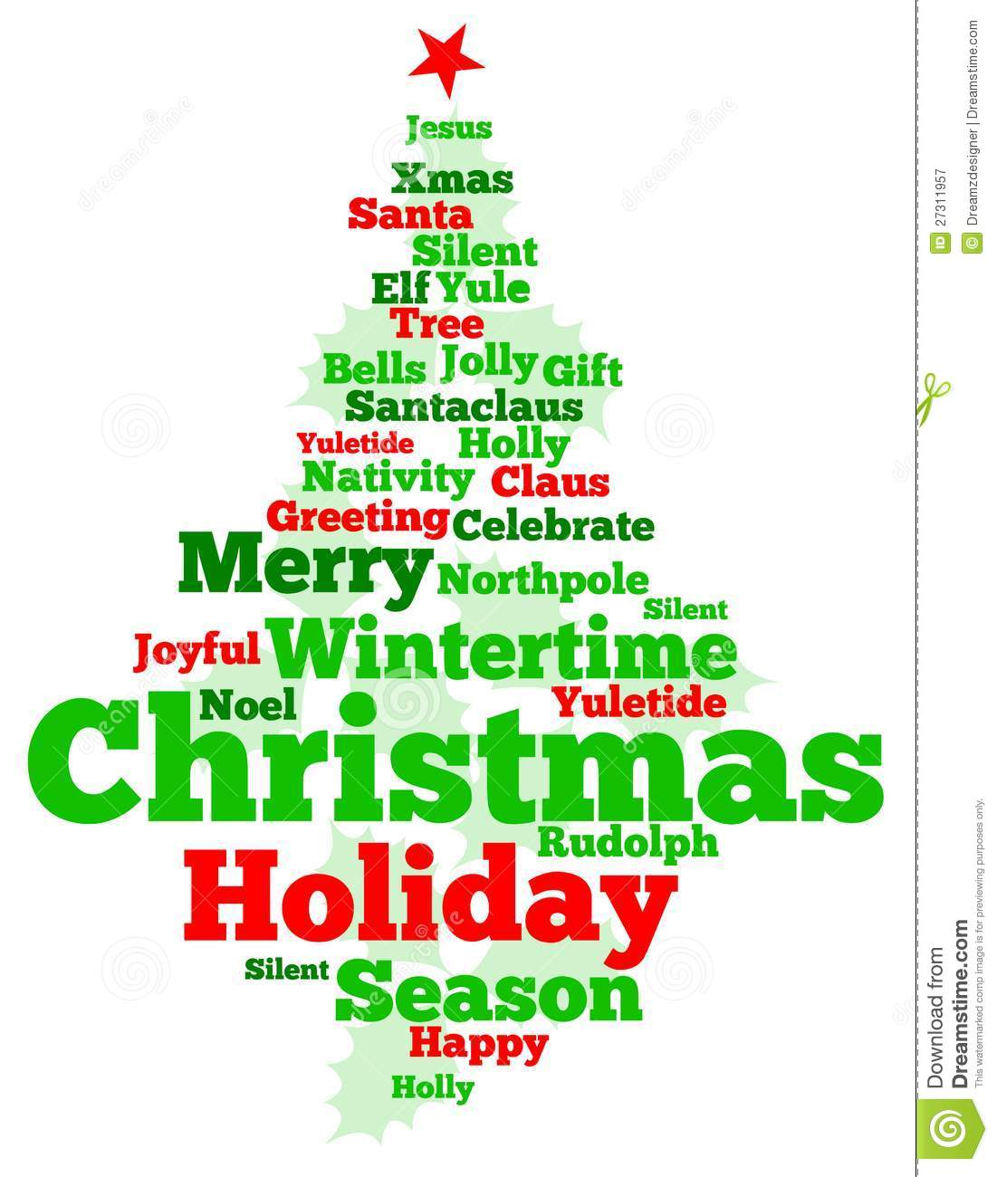 Christmas Tree Royalty Free Stock Photography - Image: 27311957
