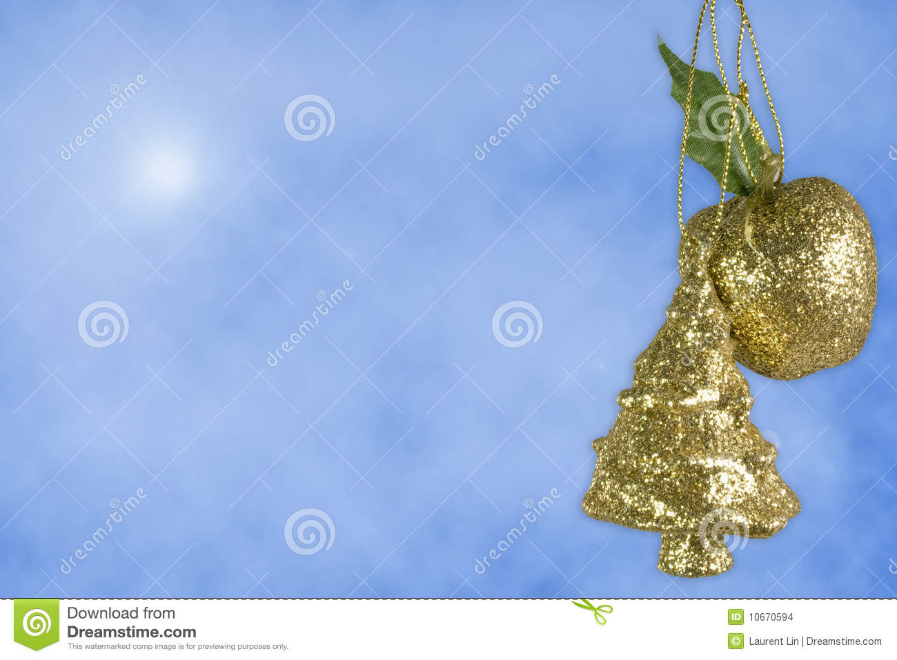 Christmas tree apple decoration stock images image 10670594 for Apple tree decoration