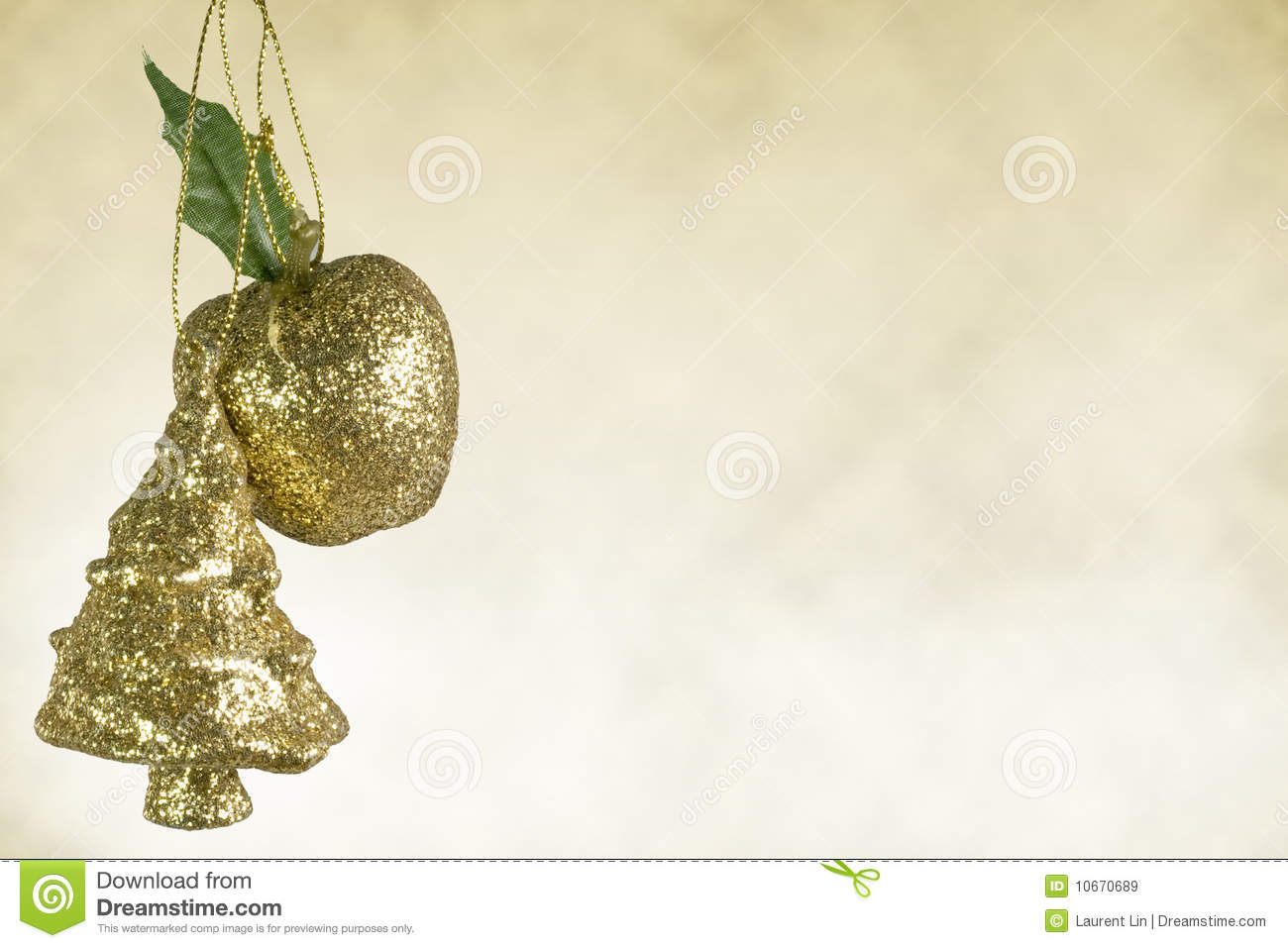 Christmas tree apple decoration royalty free stock images for Apple tree decoration
