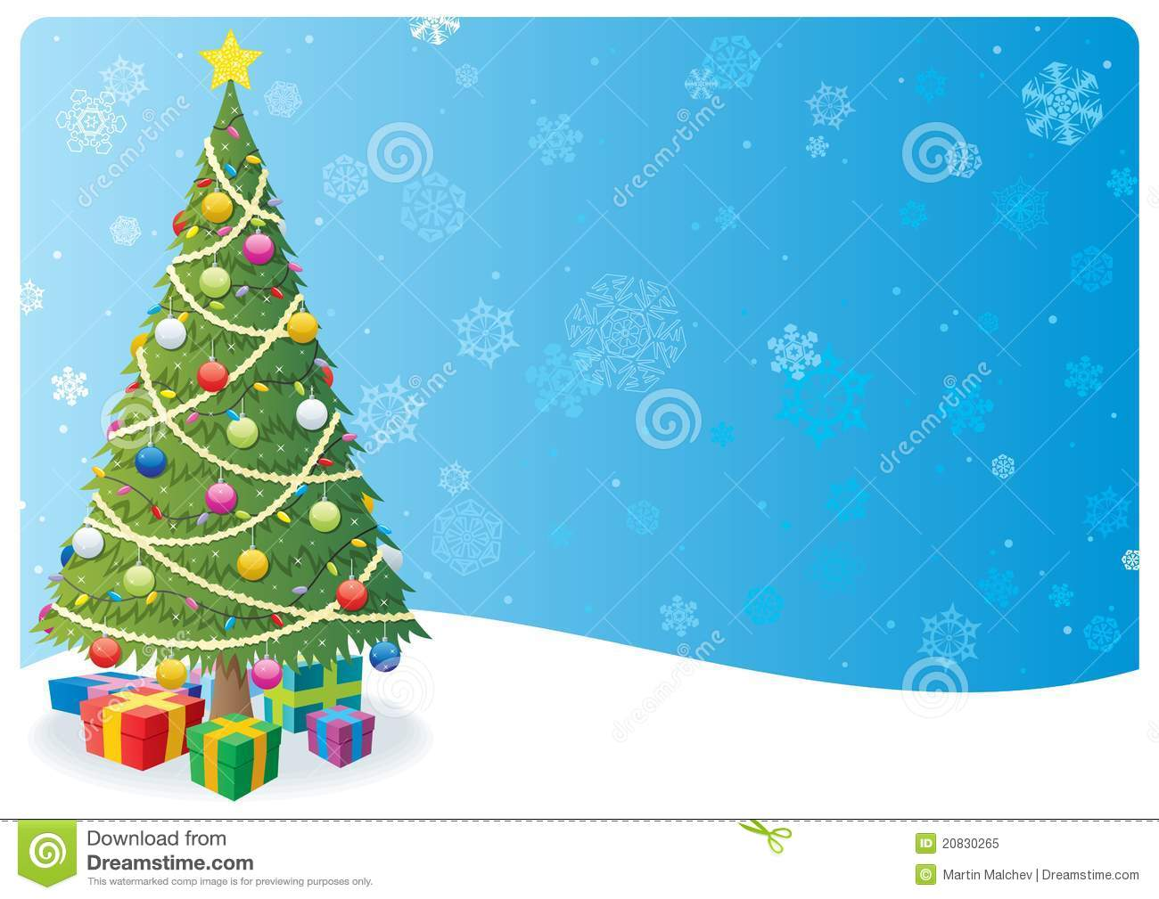 Christmas tree background 1 stock vector illustration of star christmas tree background 1 voltagebd Choice Image