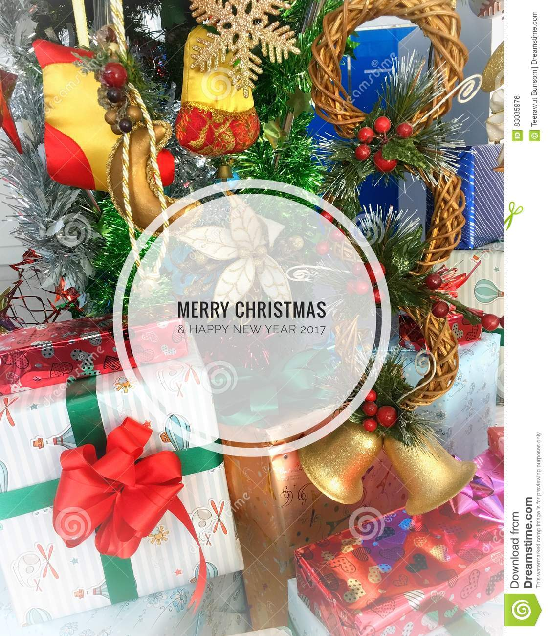 Christmas tree background stock photo image 83035976 for Christmas tree items list