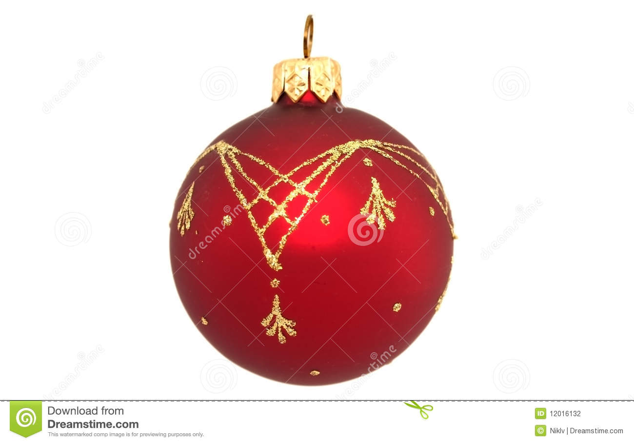 Christmas tree ball stock photo image of dust decoration