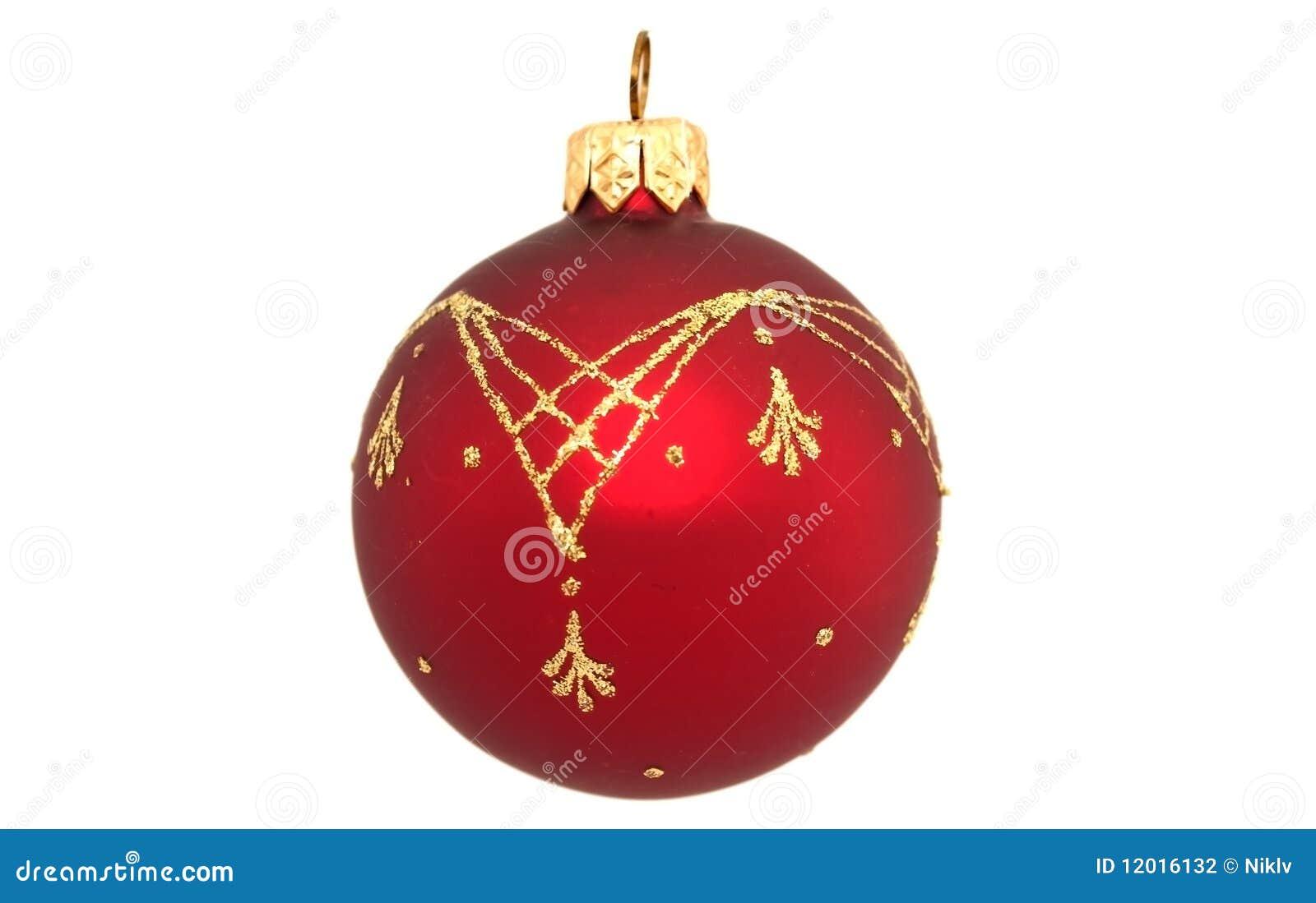 Christmas tree ball stock photography image 12016132 for Christmas tree balls