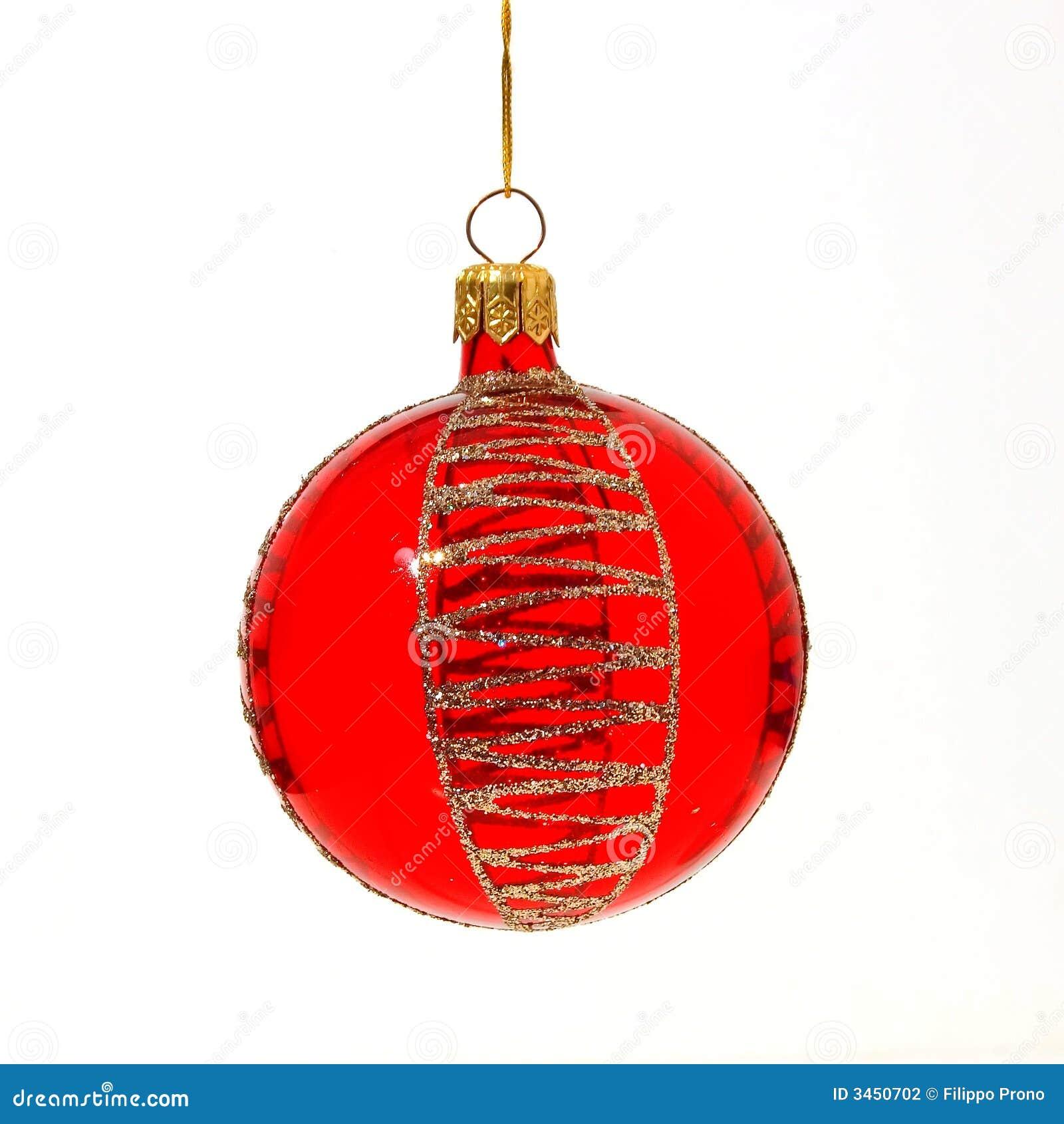 Christmas Tree Ball Placement : Christmas tree ball stock photography image