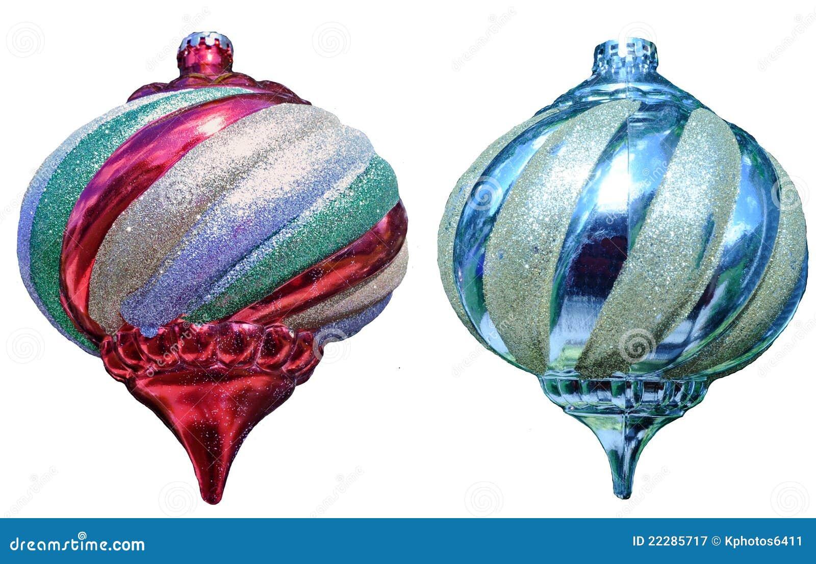 Christmas tree balls stock image image of isolated blue for Christmas tree balls