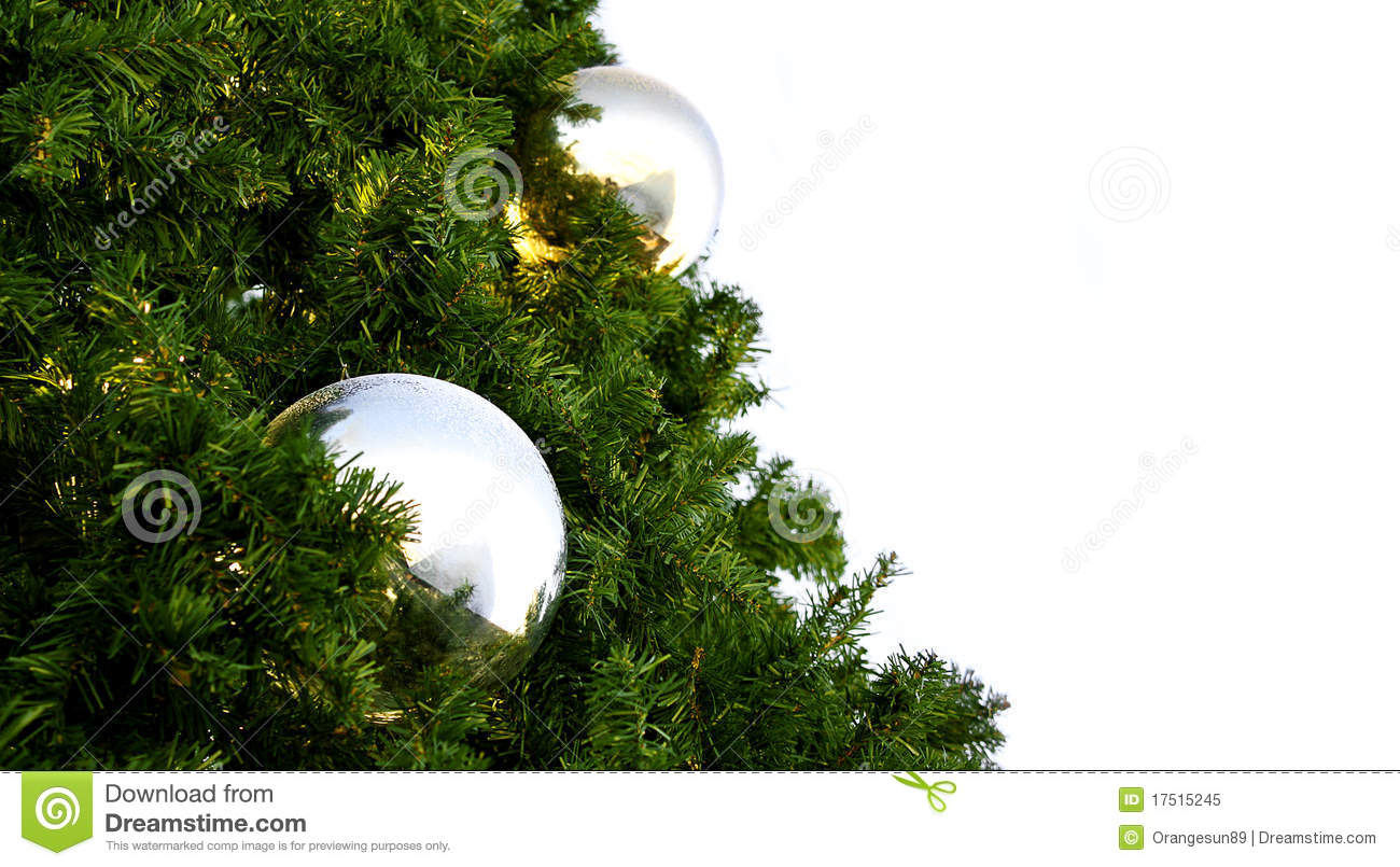 Christmas Tree Baubles Royalty Free Stock Photo Image