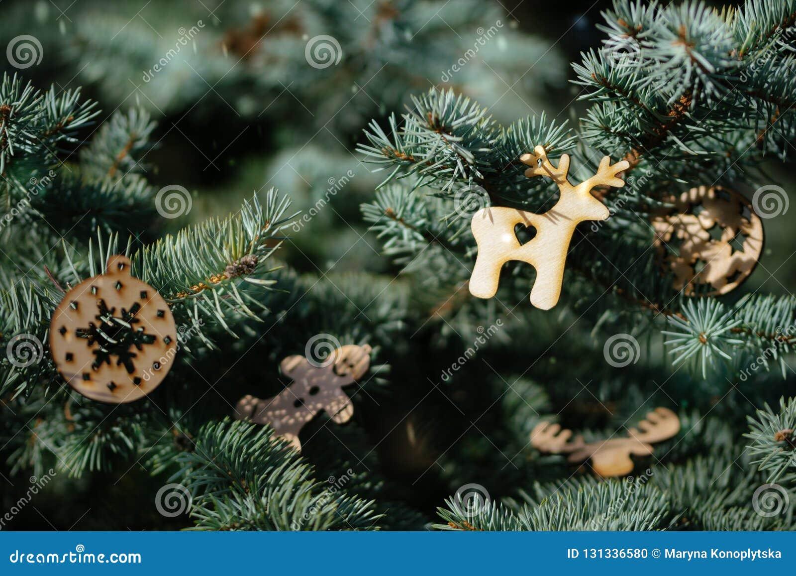 Christmas Tree And Beautiful Christmas Decorations Stock Photo Image Of Festive Decor 131336580
