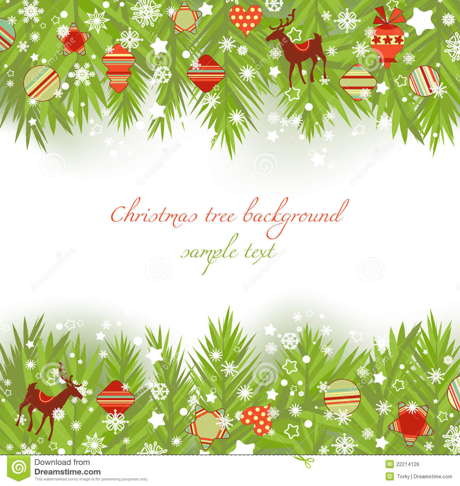 Christmas decorations borders - Royalty Free Stock Photo Download Christmas Tree Borders