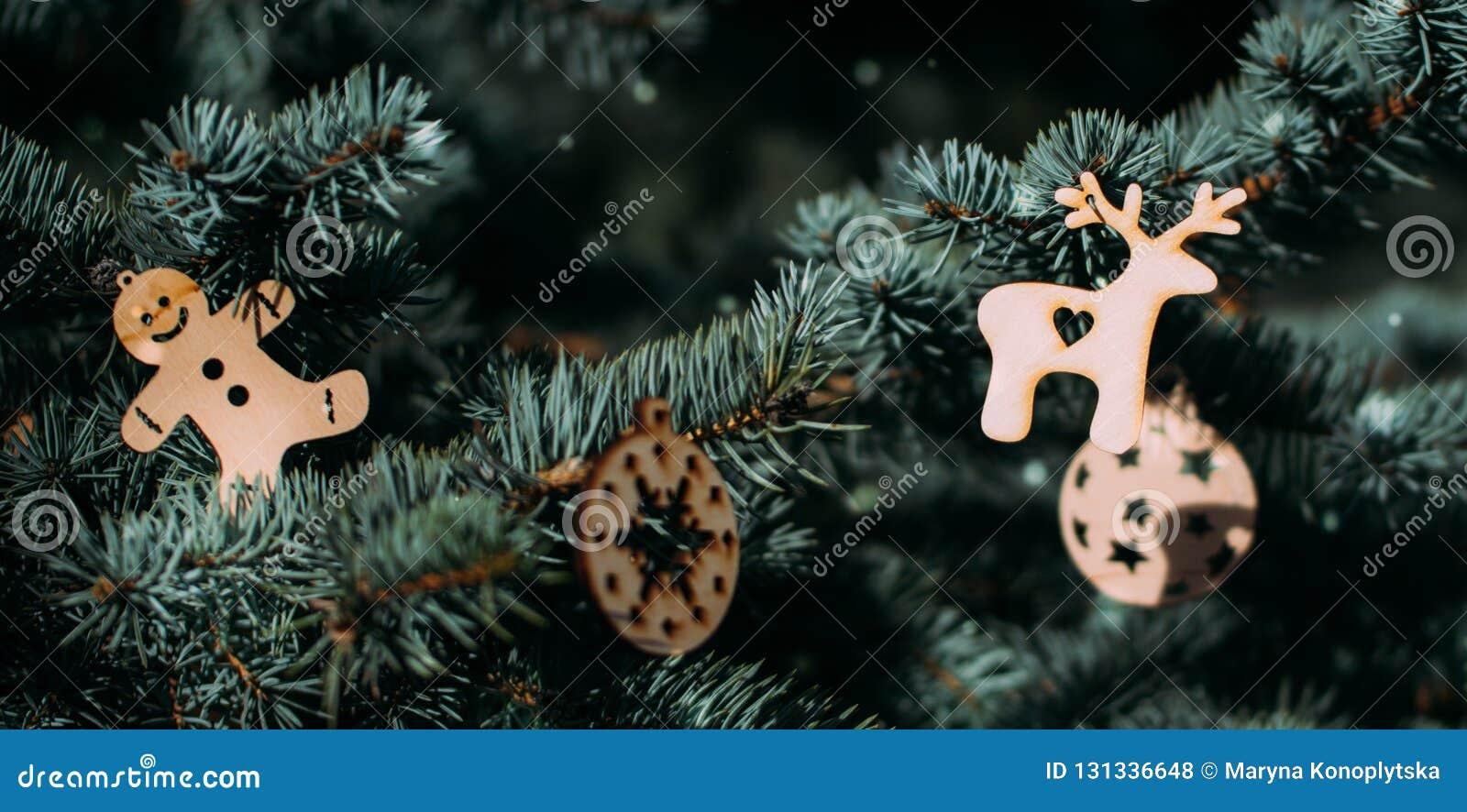 Christmas Tree And Beautiful Christmas Decorations Stock Photo Image Of Decor Design 131336648