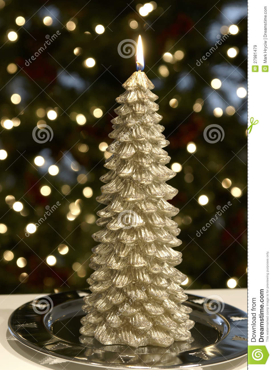 christmas tree candle - Christmas Tree Candles