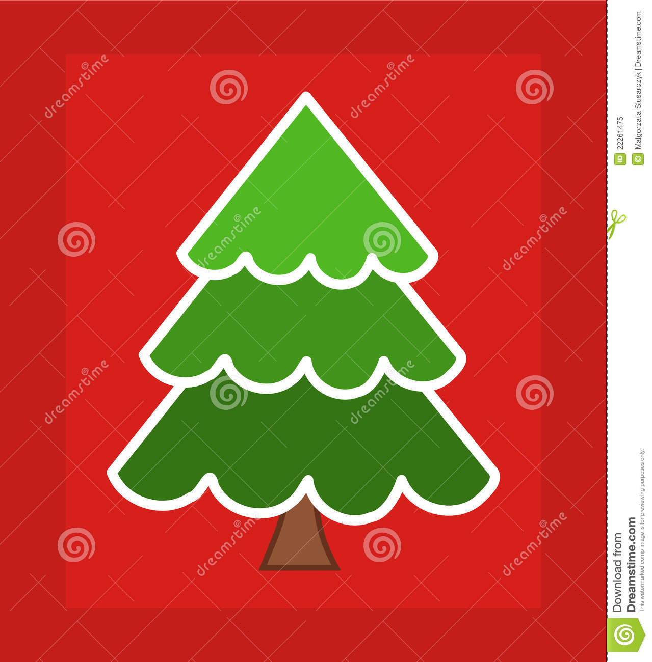 royalty free stock photo download christmas tree card - Christmas Tree Card