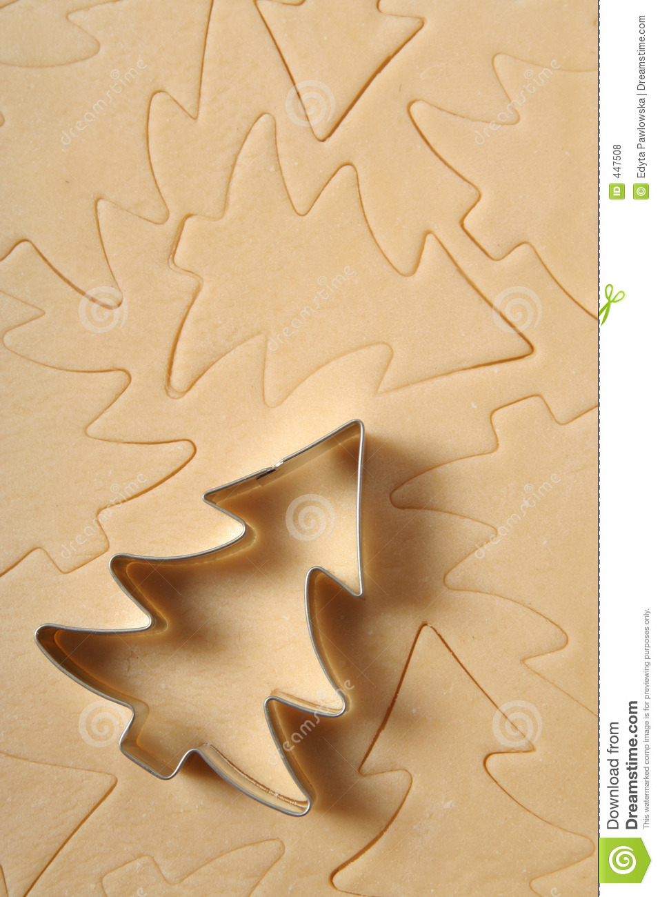 download christmas tree cookie cutter stock photo image of special cutters 447508