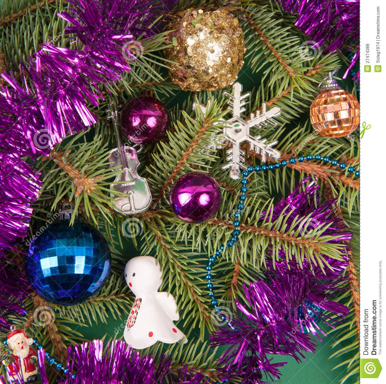 Christmas tree decoration with angel royalty free stock photos image 27474388 for Angel of the north christmas decoration
