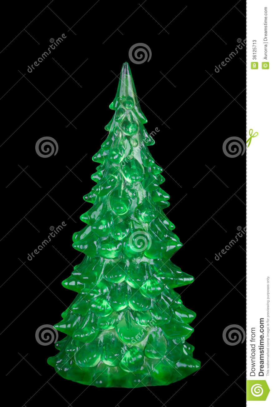 Christmas tree decoration a green fir tree stock photos for A green christmas decoration