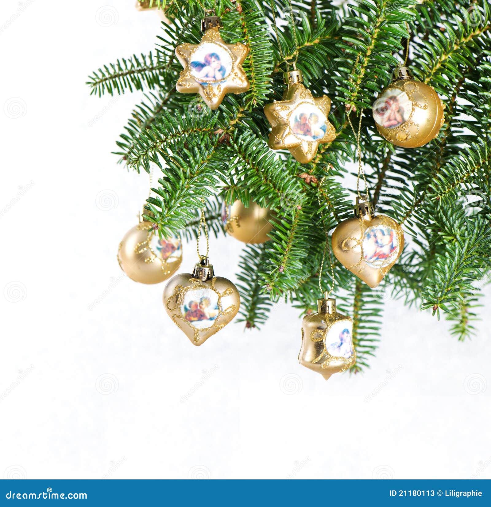 Christmas tree decoration. vinrage balls