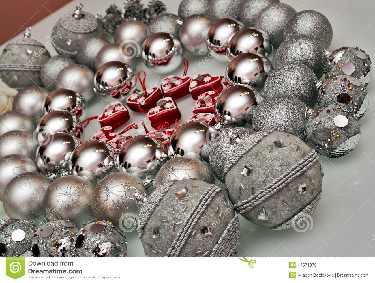 What Kind Of Christmas Decorations Are Used In Spain : Christmas tree decorations stock photos image